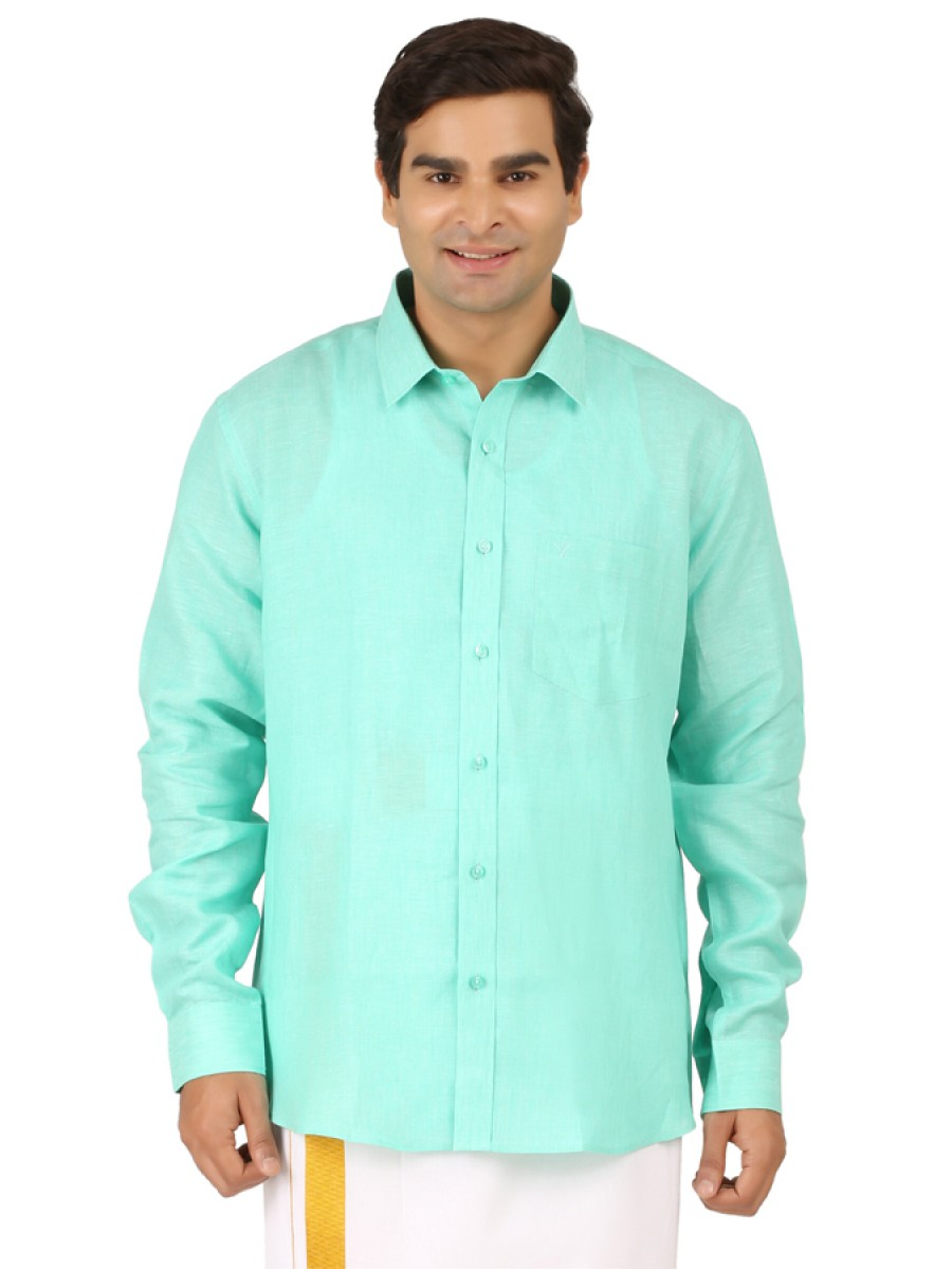 Light Green Full Sleeve shirts b232fb7c5