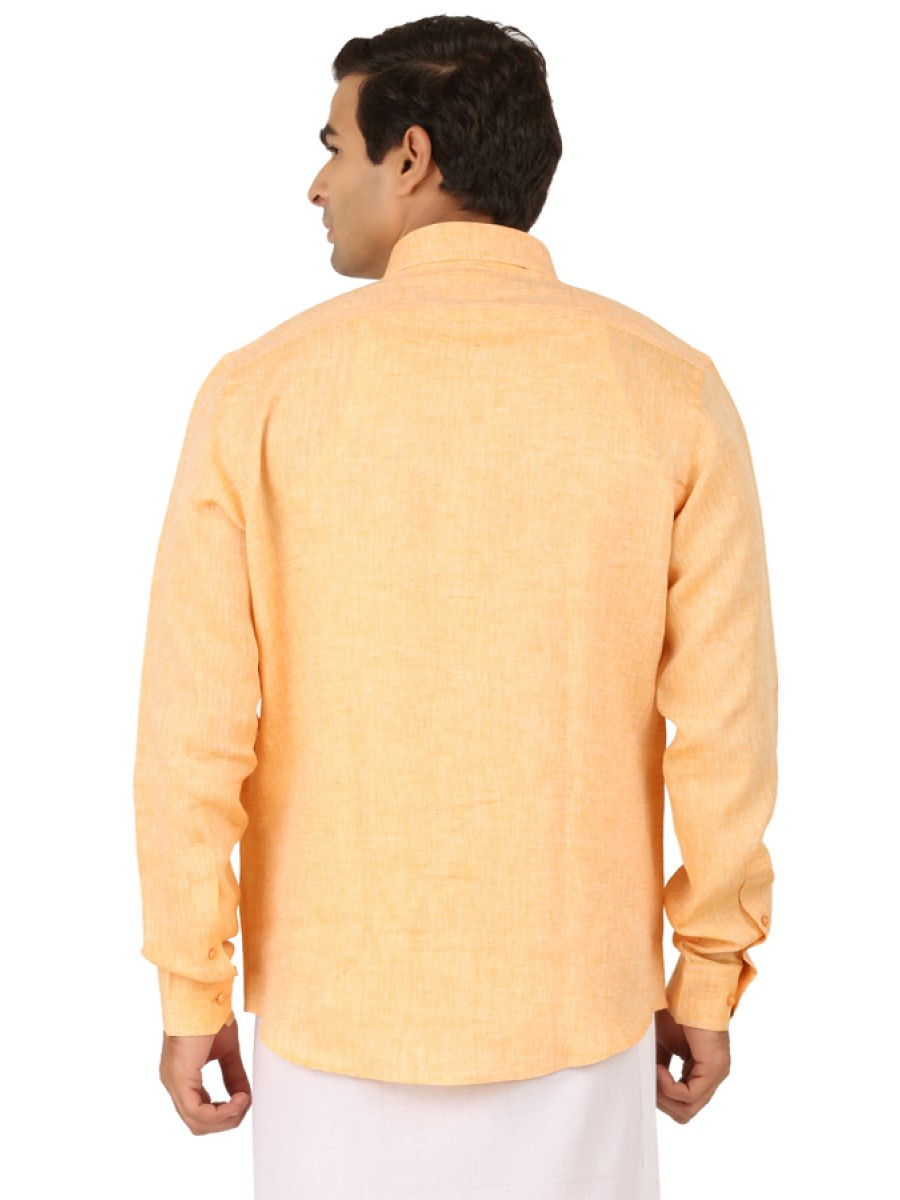 Pale Orange Full Sleeve Shirts b9311cc1d